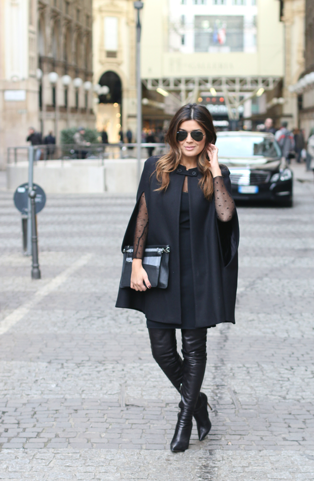 Black Cape in Milan