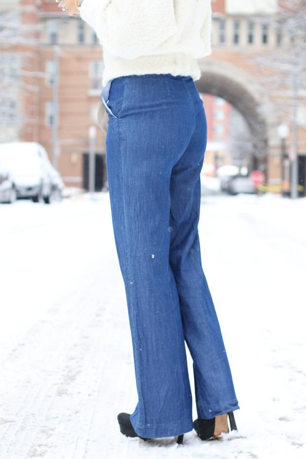 Sears Wide Leg Trousers