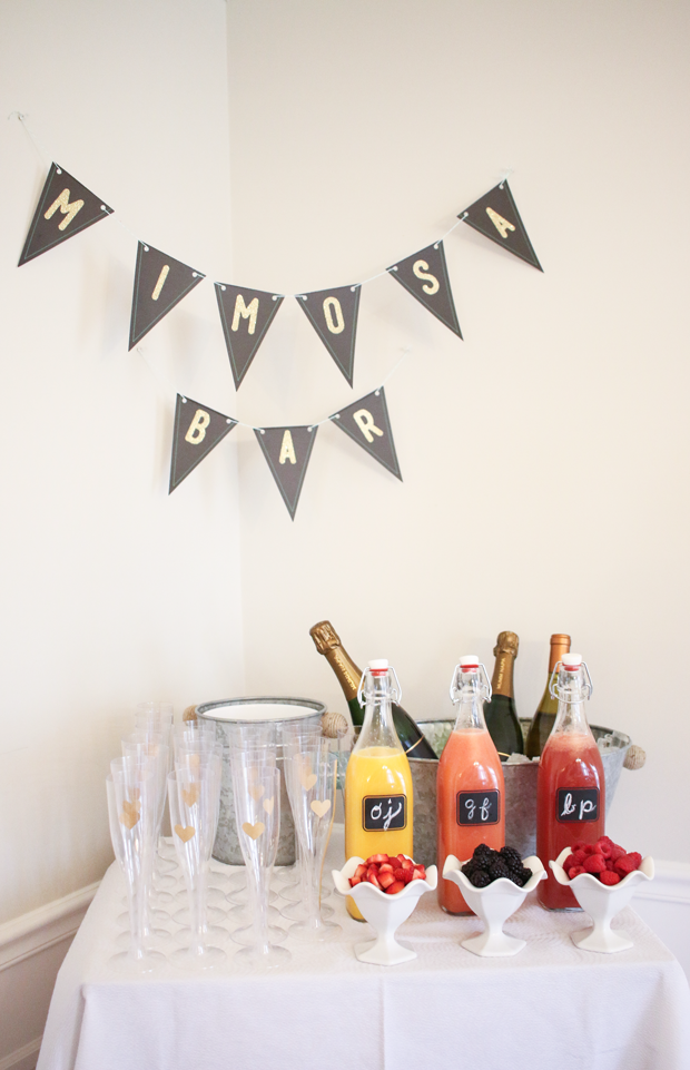 My DIY Chic Bridal Shower