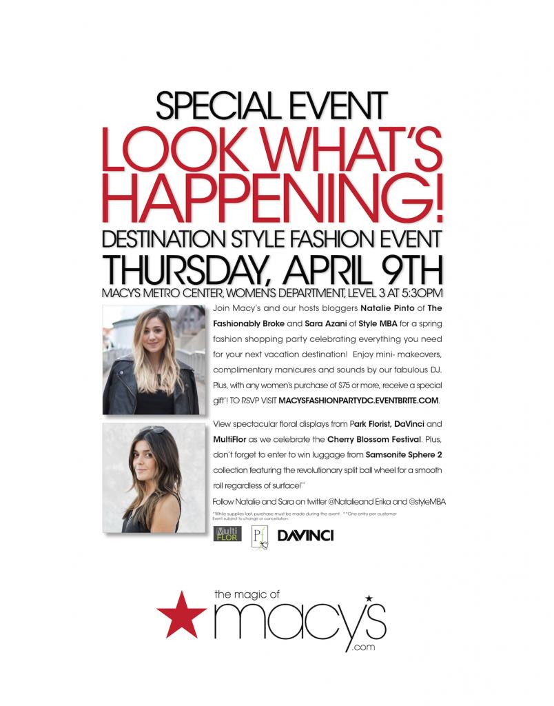 Macy's Spring Fashion Show