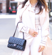 H&M: Blush Trench Coat
