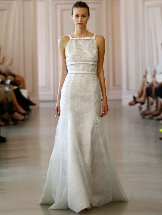 The Bridal Salon At Saks Jandel Peter Coppings Debut Oscar De La