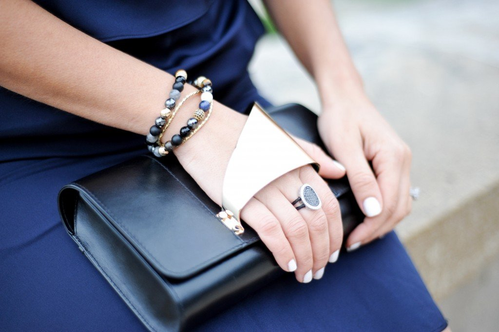 Perrin Clutch and Alor Ring
