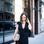 Black Wrap Dress: Join the reformation