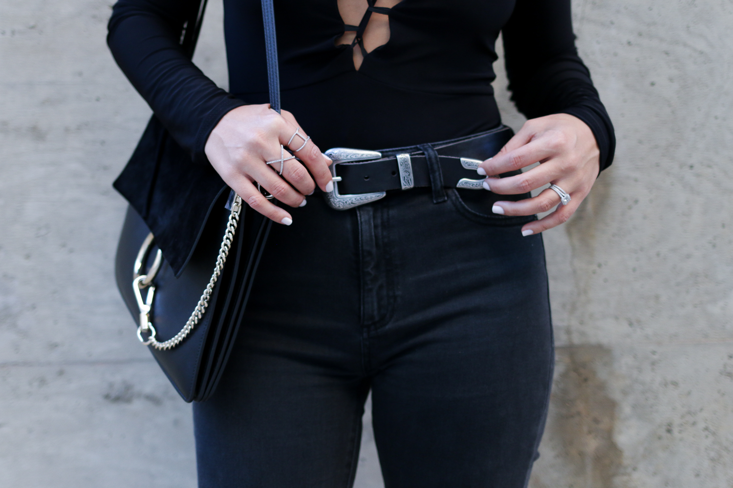 Urban Outfitters Ecote Belt and DL1961 Denim