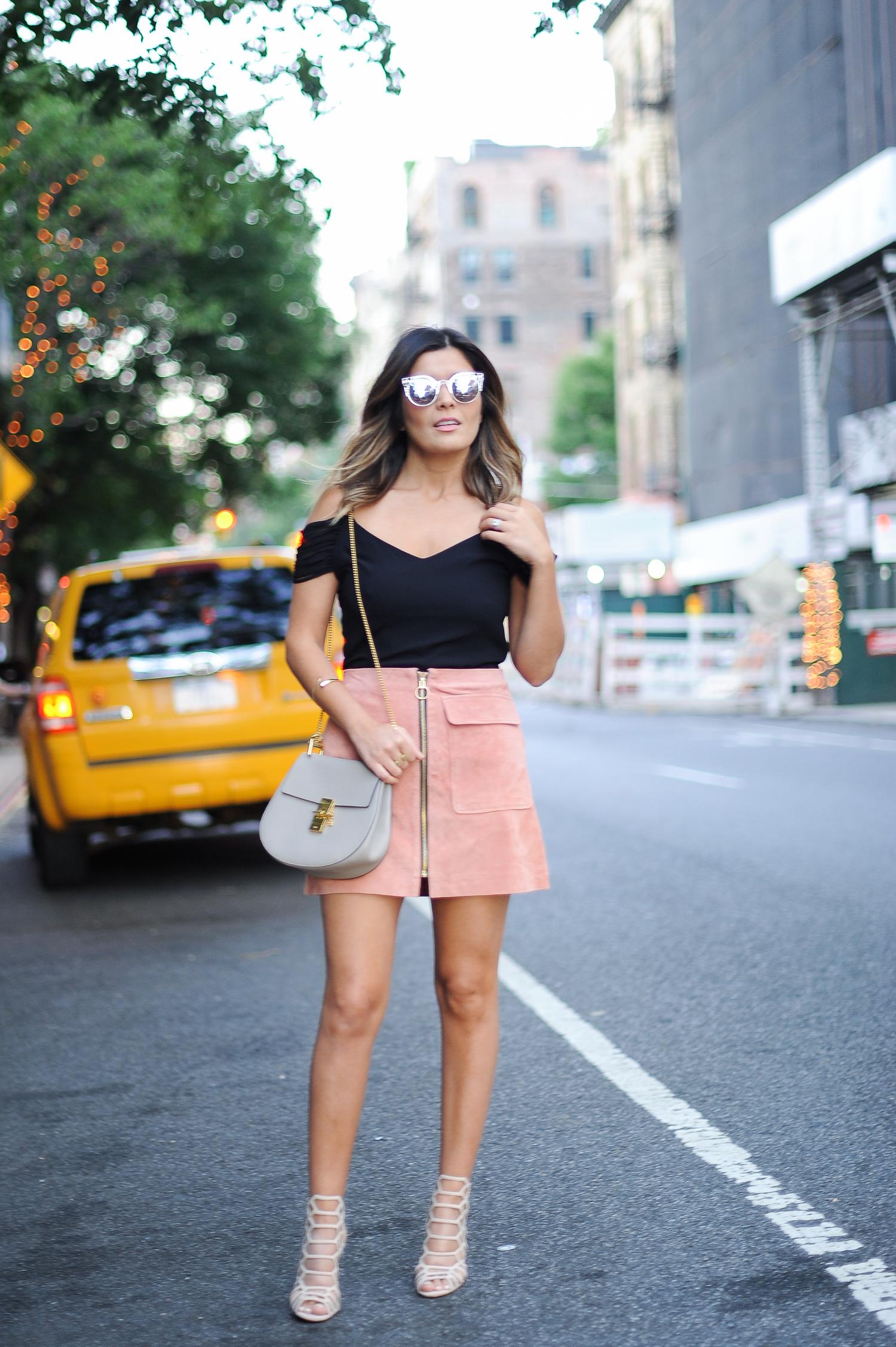 F21 A Line Skirt