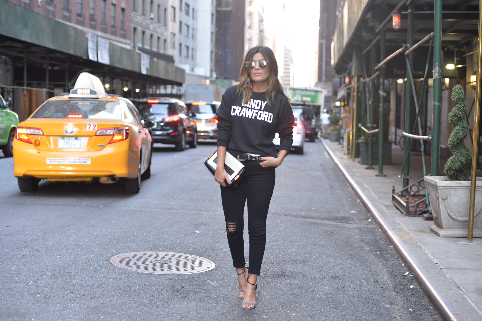 Cindy Crawford Reformation Sweatshirt