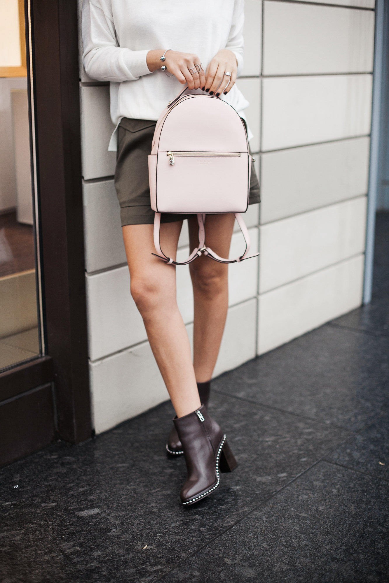 Henri Bendel Backpack and Coach Boots