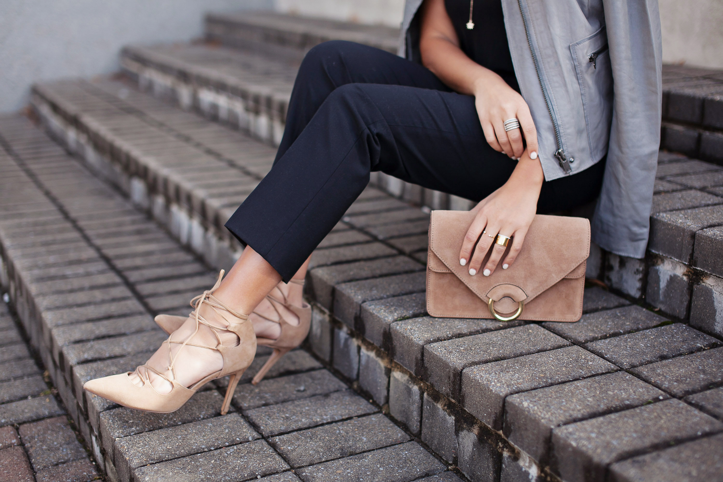 Nude Bag and shoes