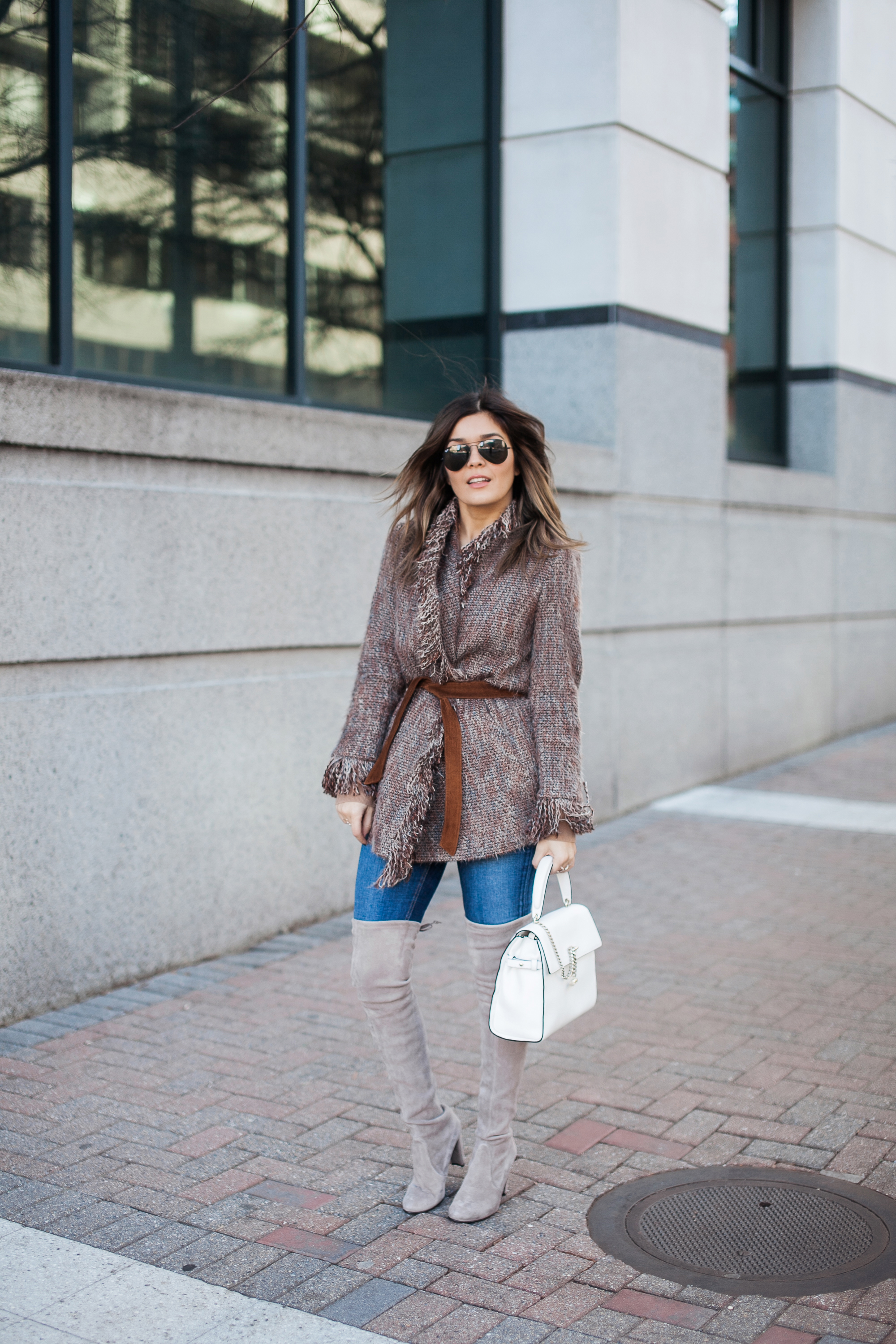 Intermix Fringe Jacket