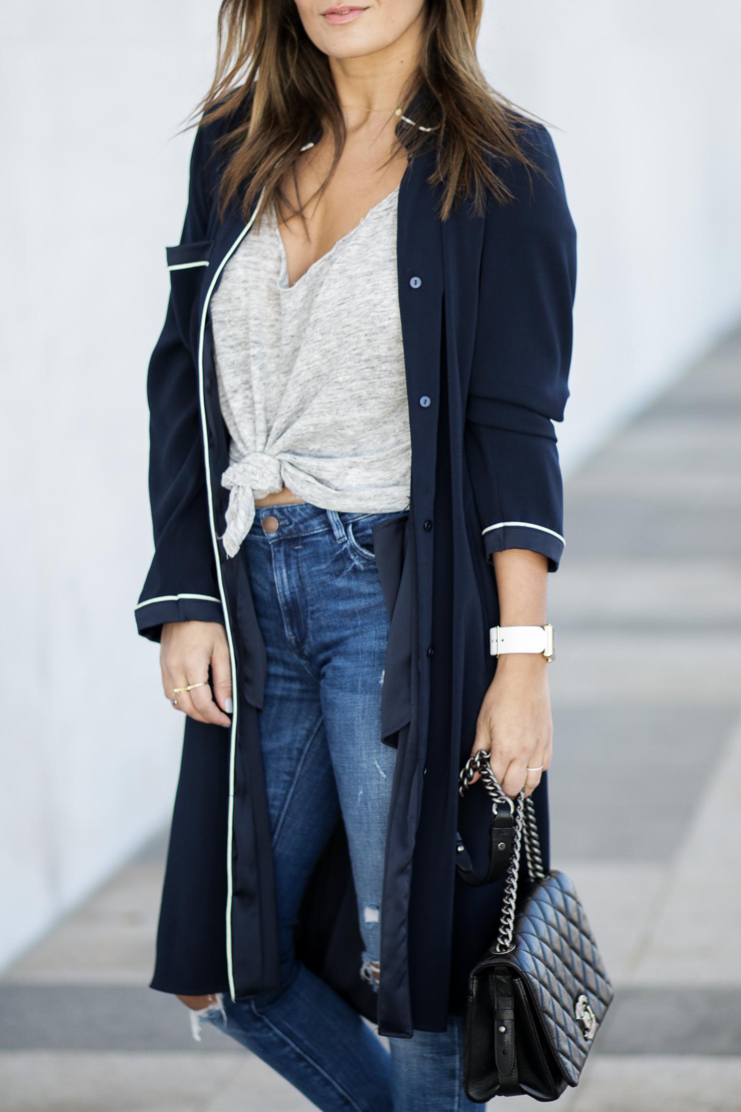Pajamas Inspired Zara Jacket