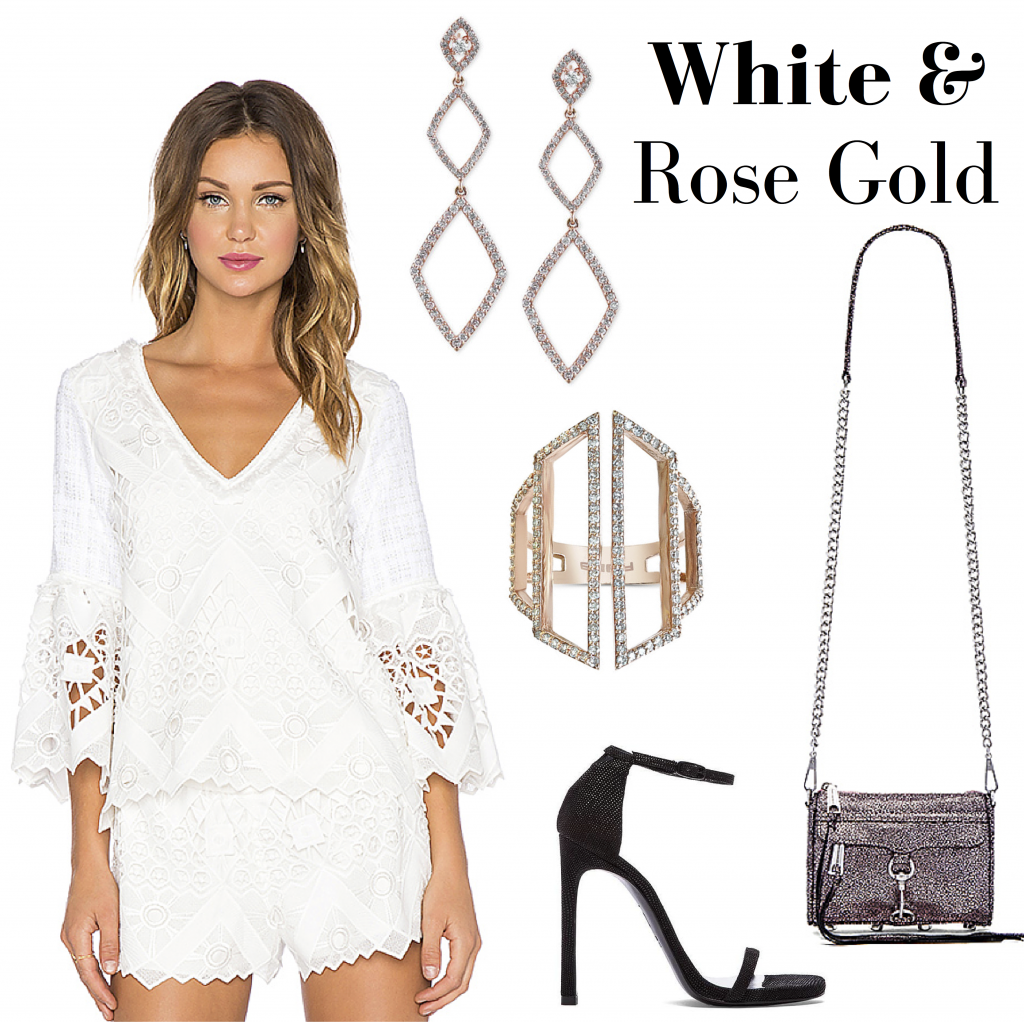 Macy's Semi-Annual Diamond Sale White & Rose Gold look