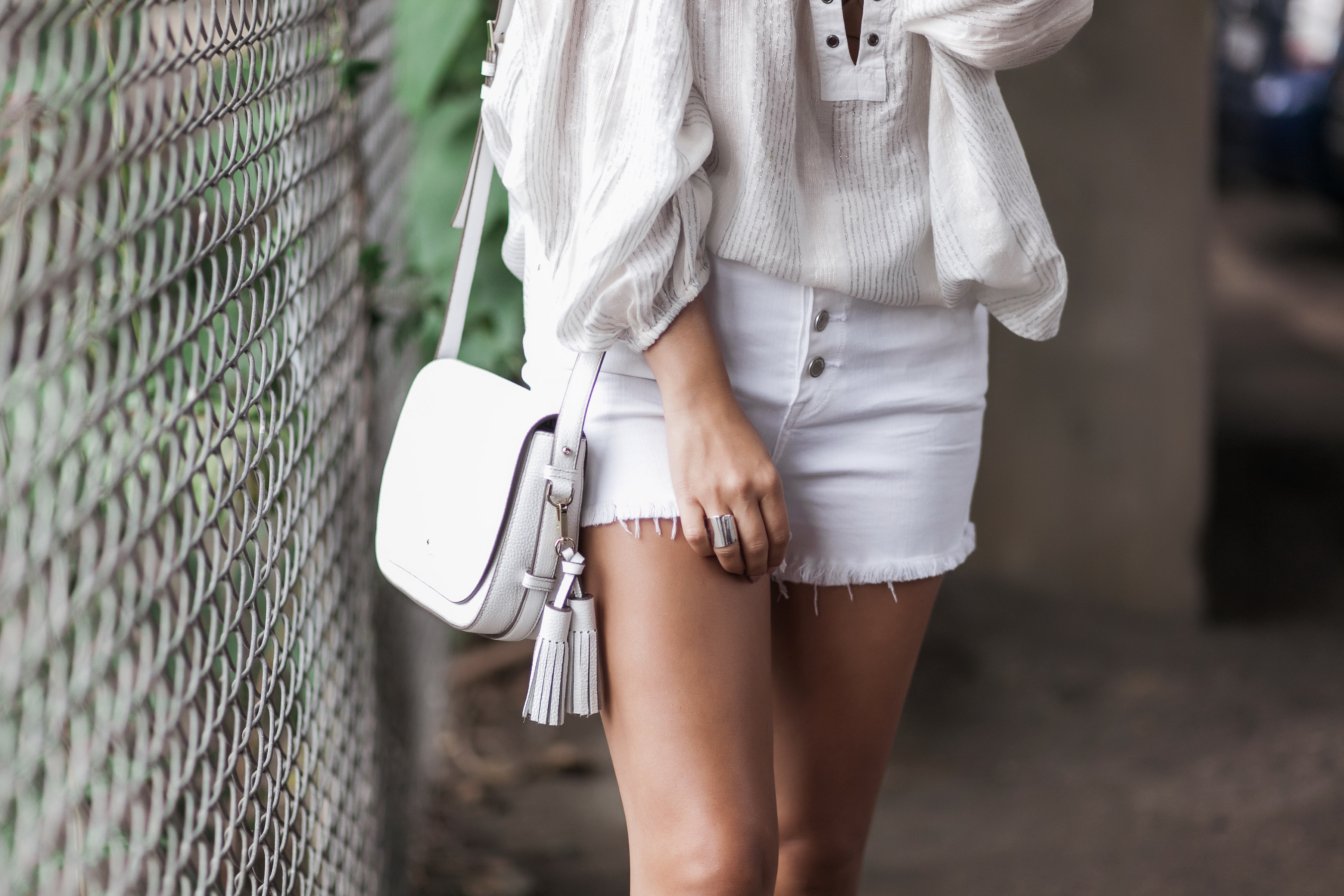 White Outfit Look