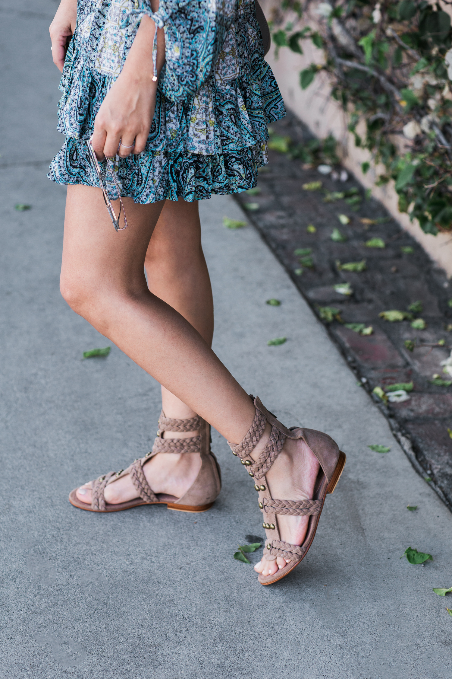 Style MBA wears Little Joe Woman Sandals