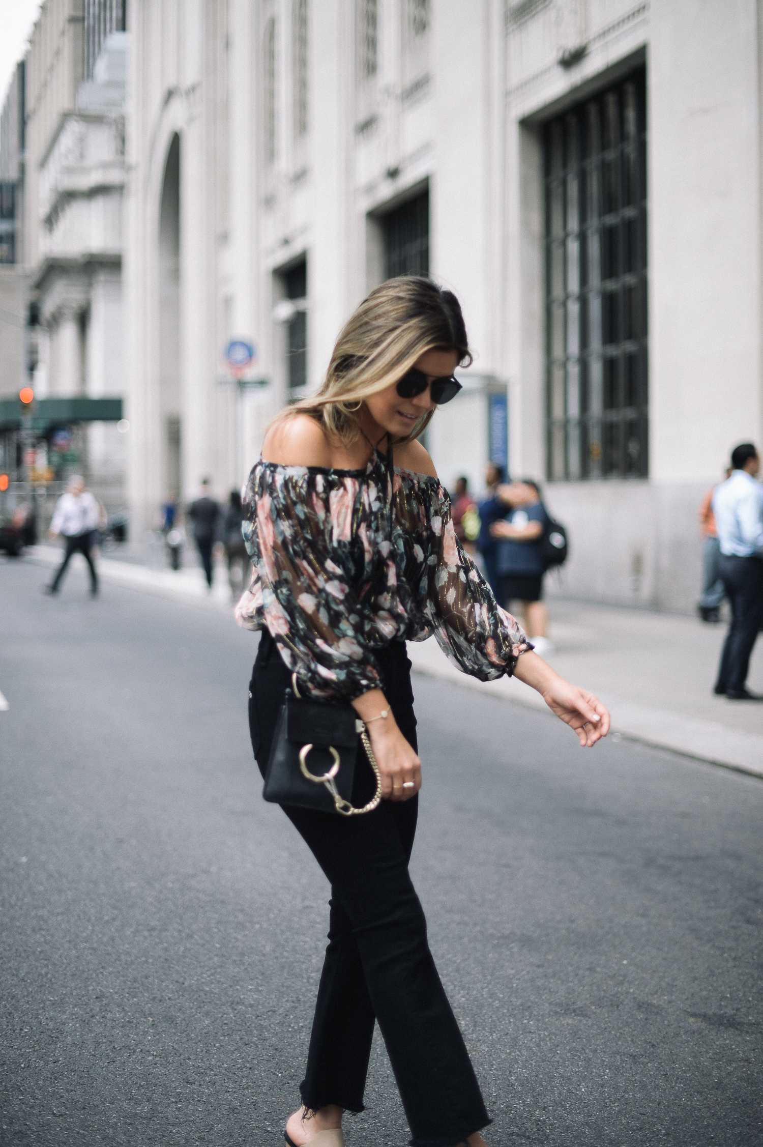 Style MBA Wears Zimmermann Top in NYC