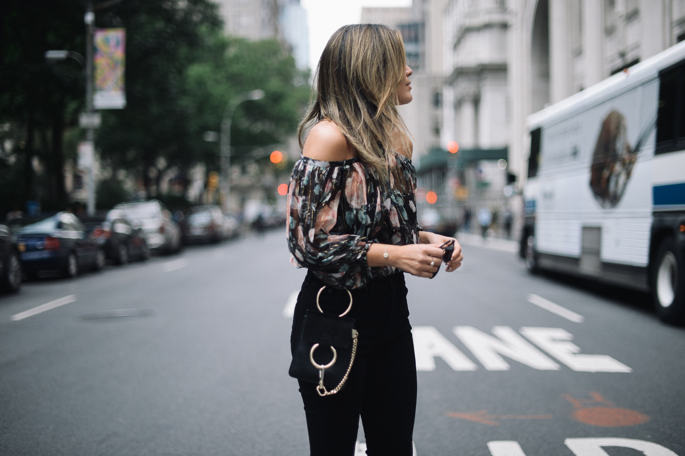 Style MBA wears Zimmermann Top from Intermix