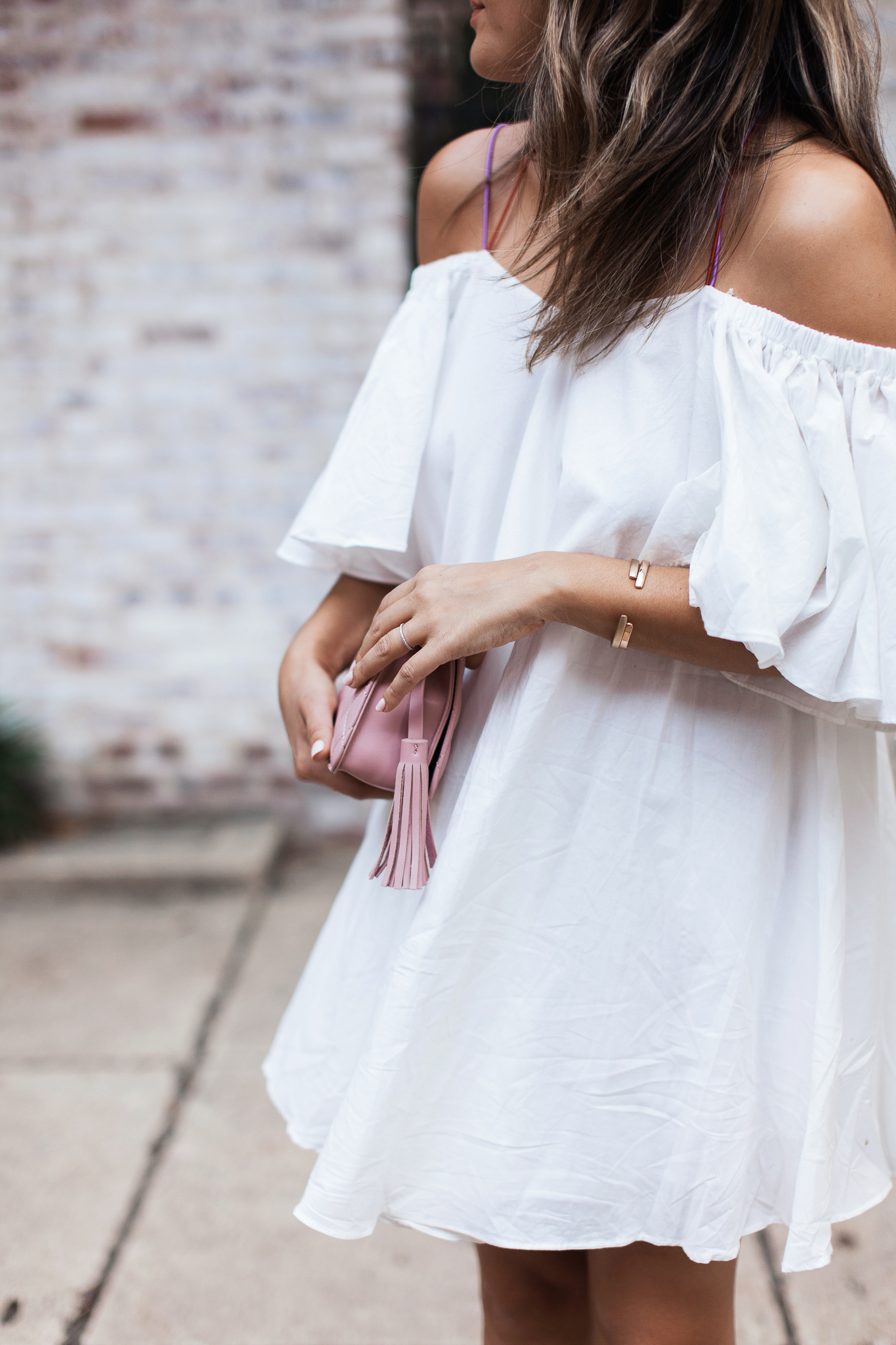 Style MBA Wears Storets White Dress