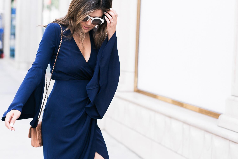 Style MBA Wears Bell Sleeves