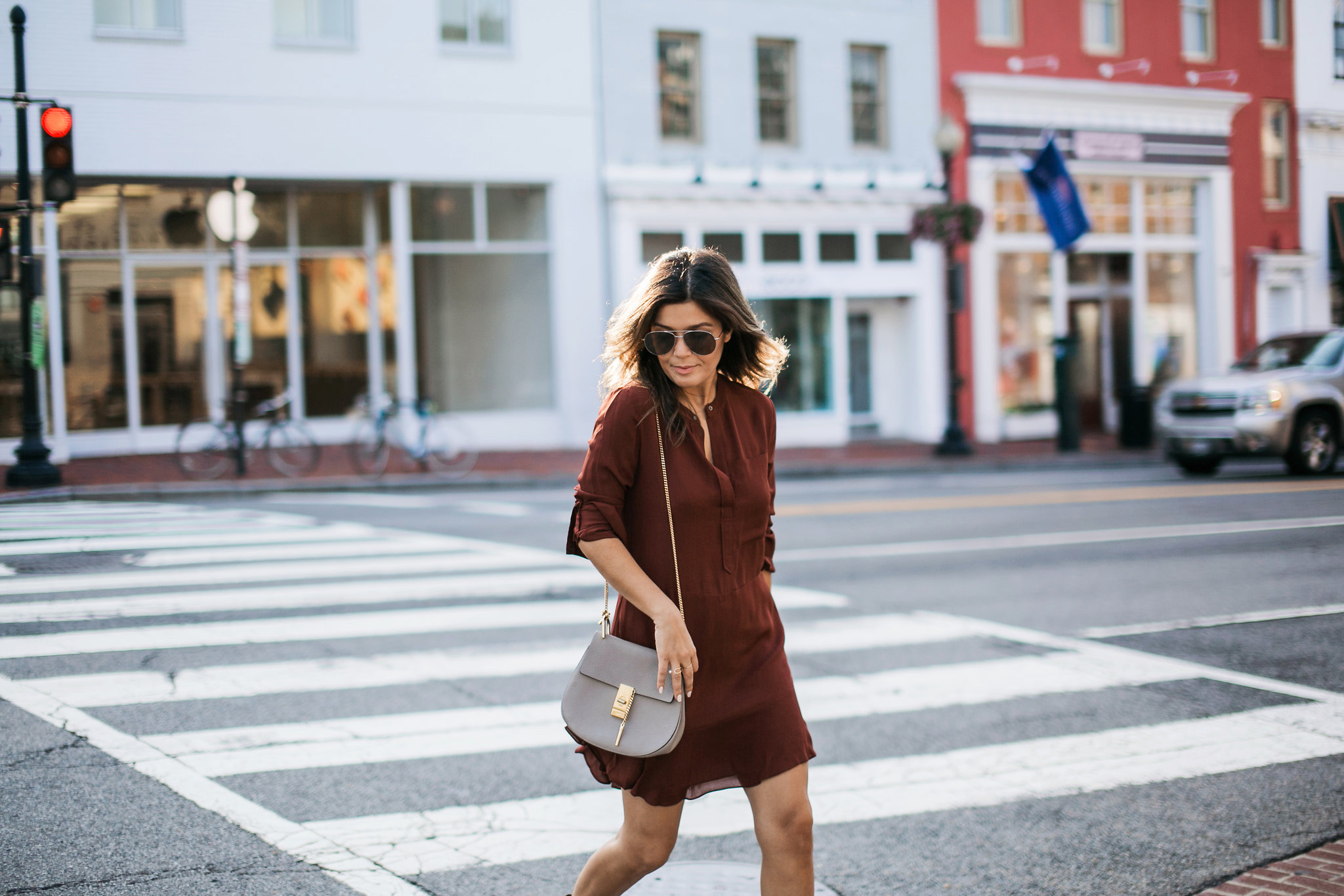 Style Wears Burgundy and Grey