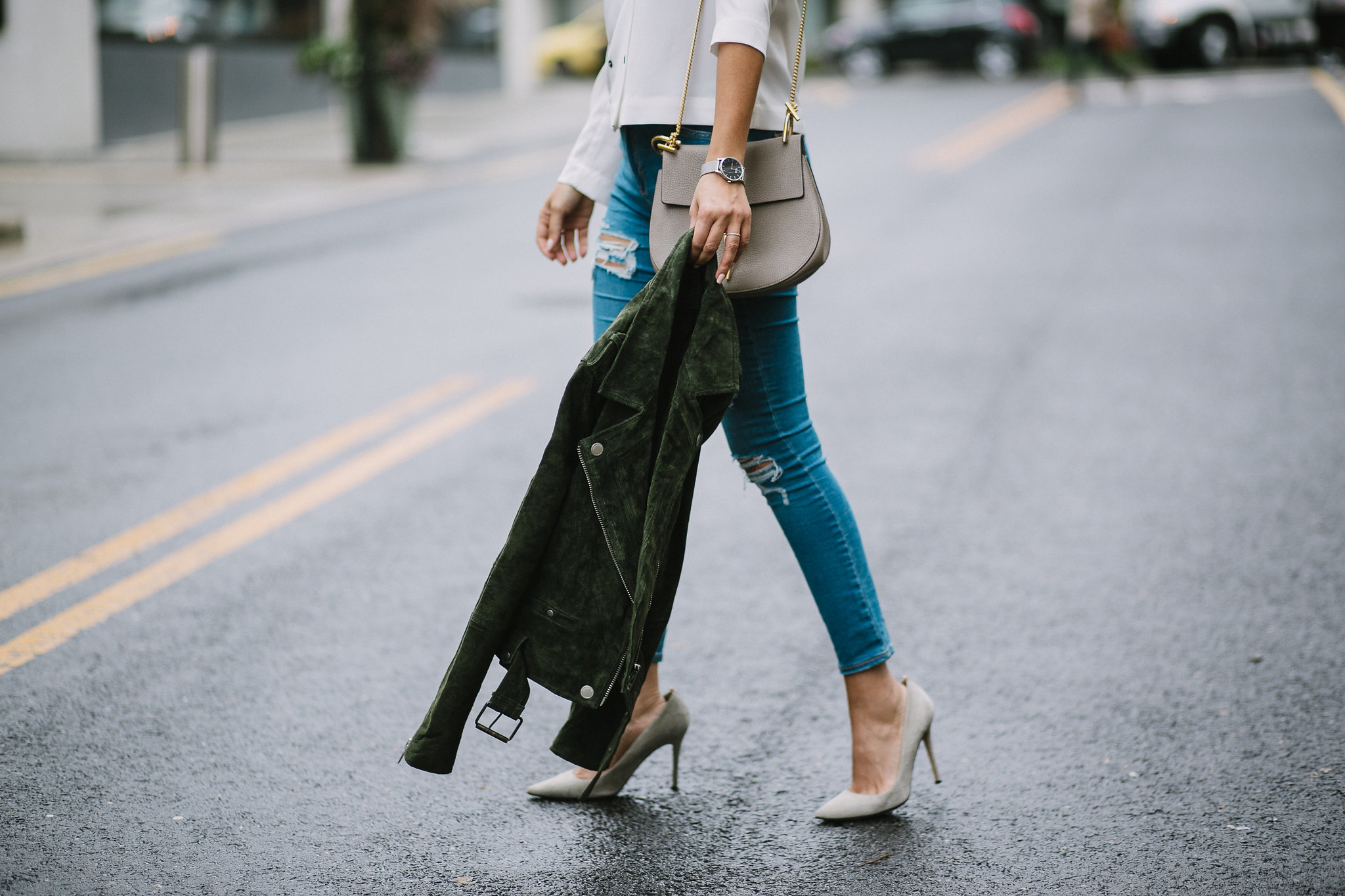 Style MBA wears Topshop Jeans and SJP pumps