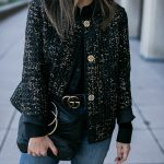 Black & Gold Outfit | Lafayette 148