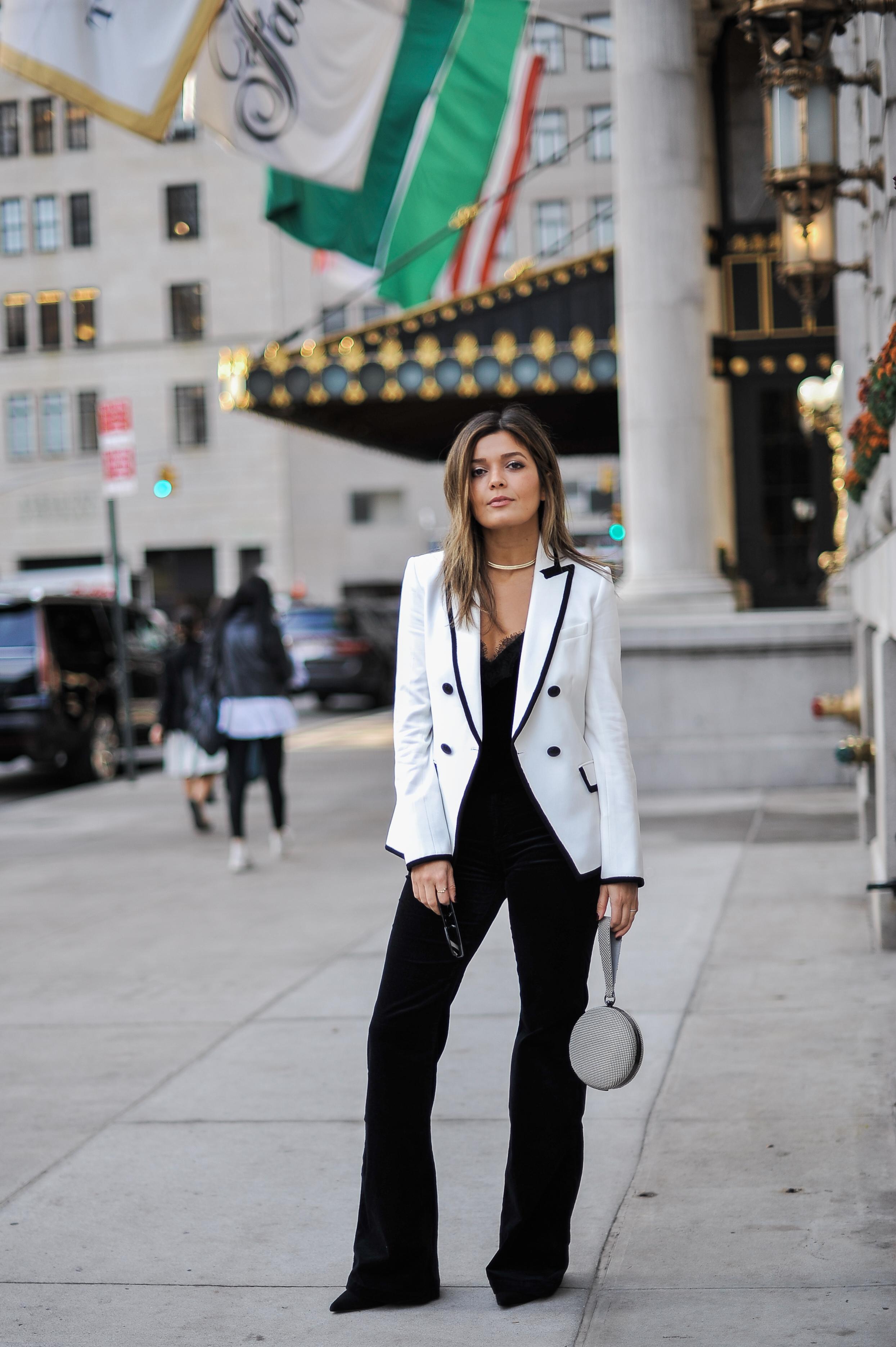 Style MBA Wears Nordstrom Blazer