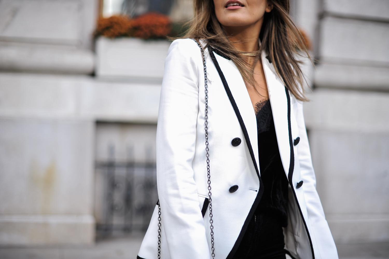 Style MBA wears Veronica Beard Blazer