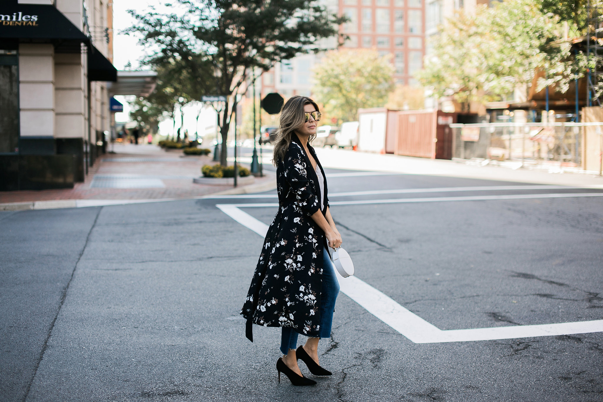 Style MBA Wears L'Academie x Revolve Floral Robe