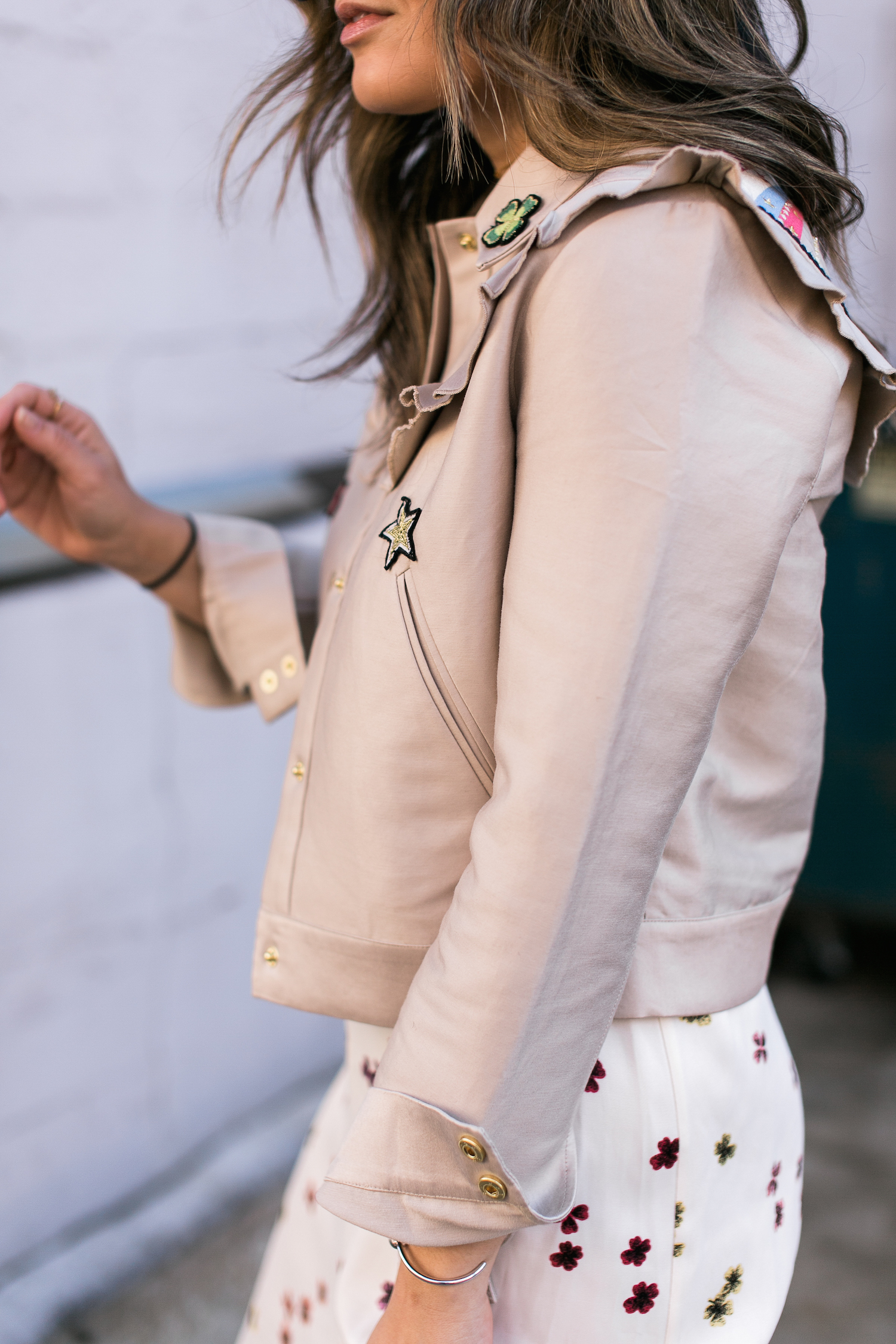 Style MBA Wears & Other STtories Frill Jacket
