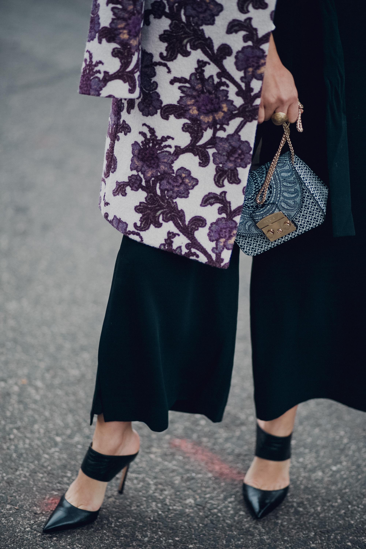 Style MBA Wears Club Monaco Jacket and Furla Bag