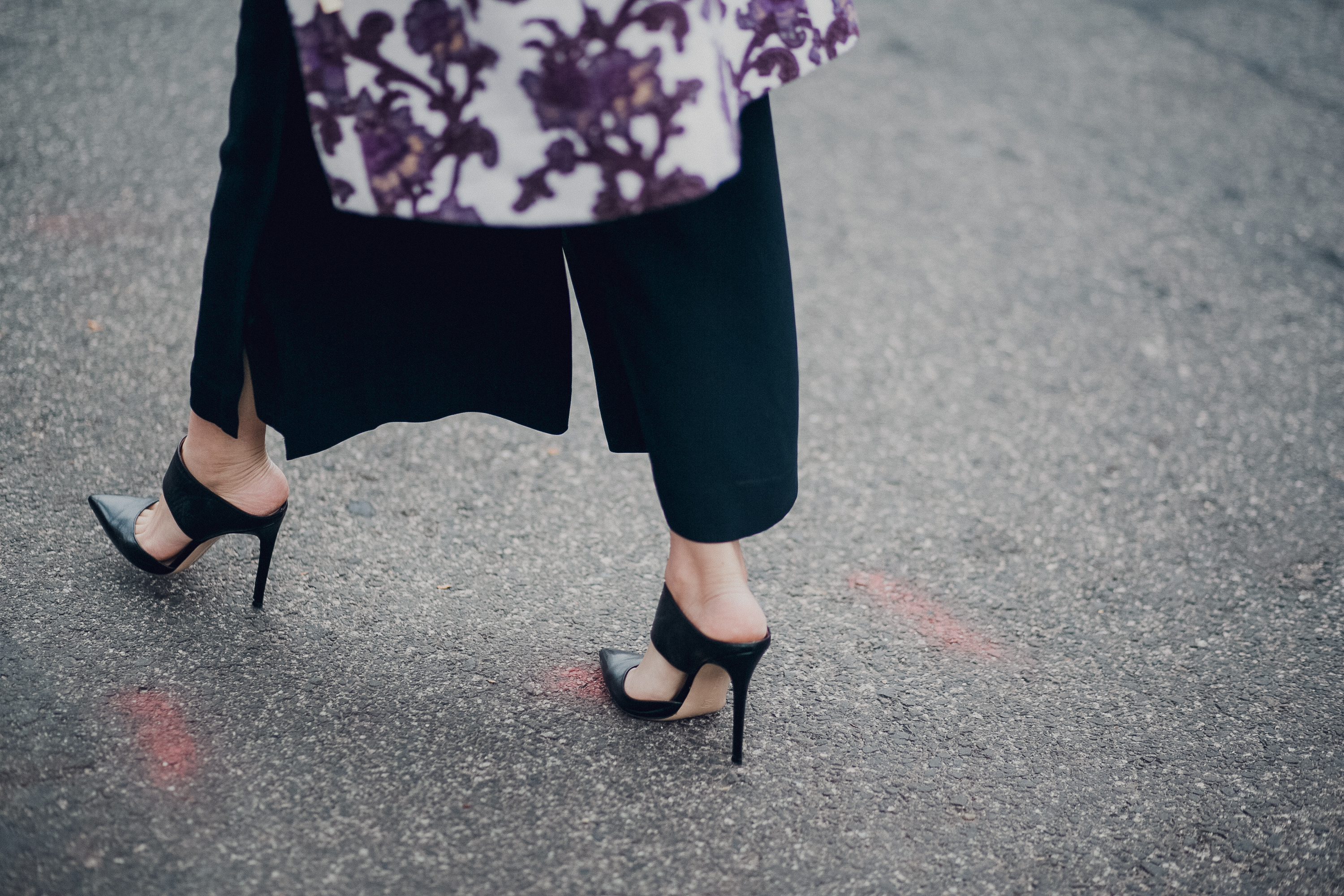 Style MBA Wears Club Monaco NYFW Collection and Gianvito Rossi Pumps