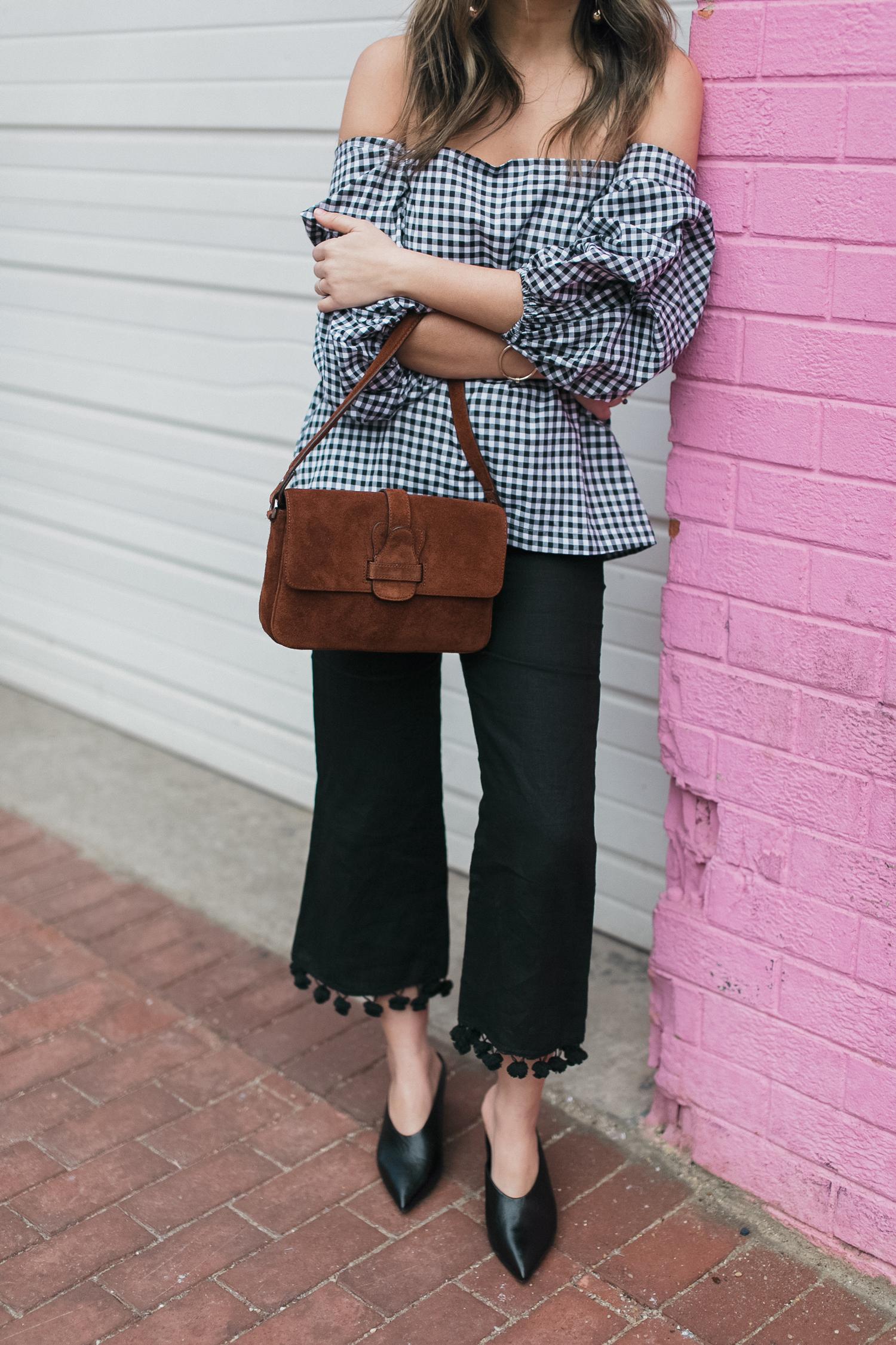 Style MBA Wears Banana Republic Handbag and Zara Pants