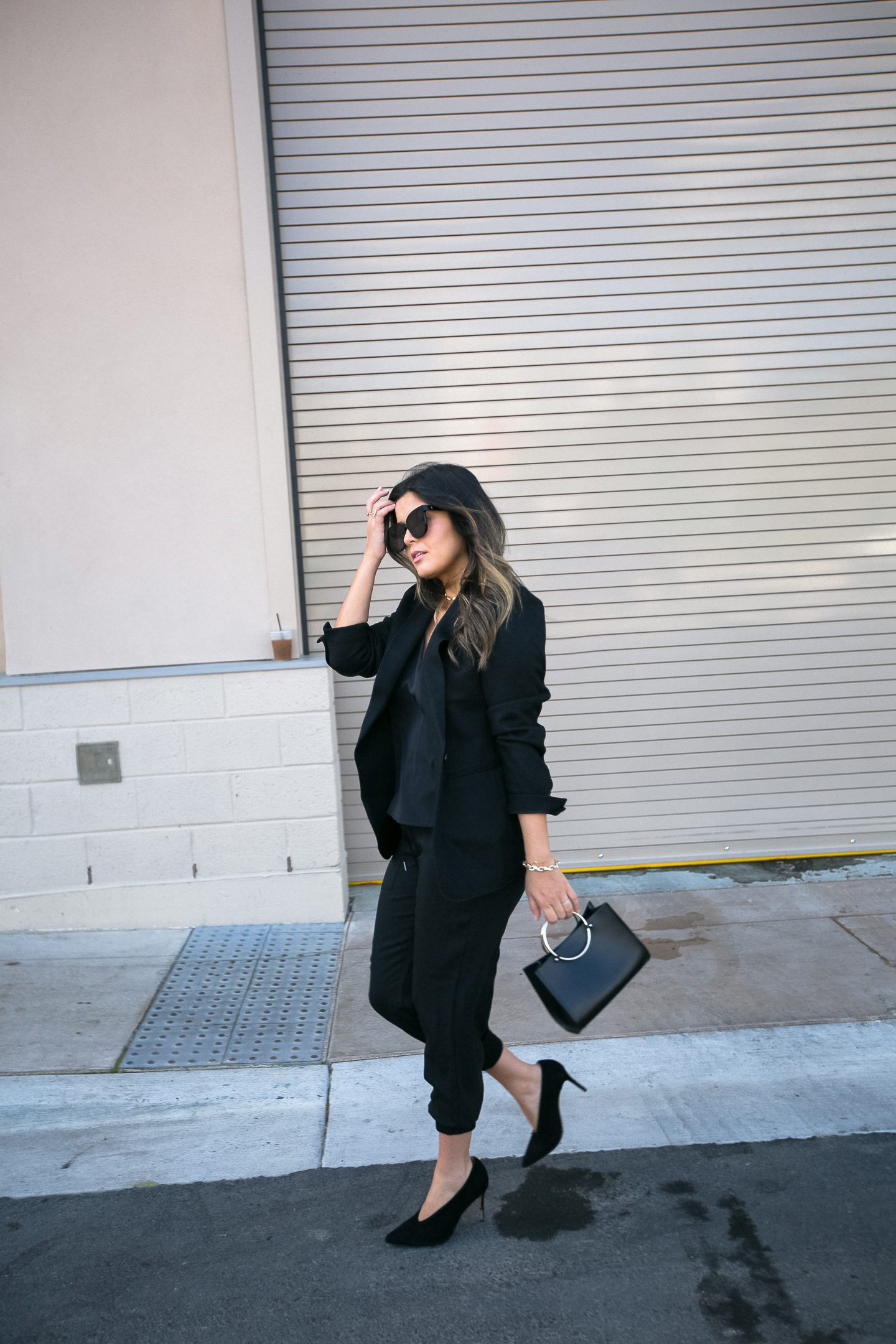 How to Wear Jogger Pants: Ann Taylor