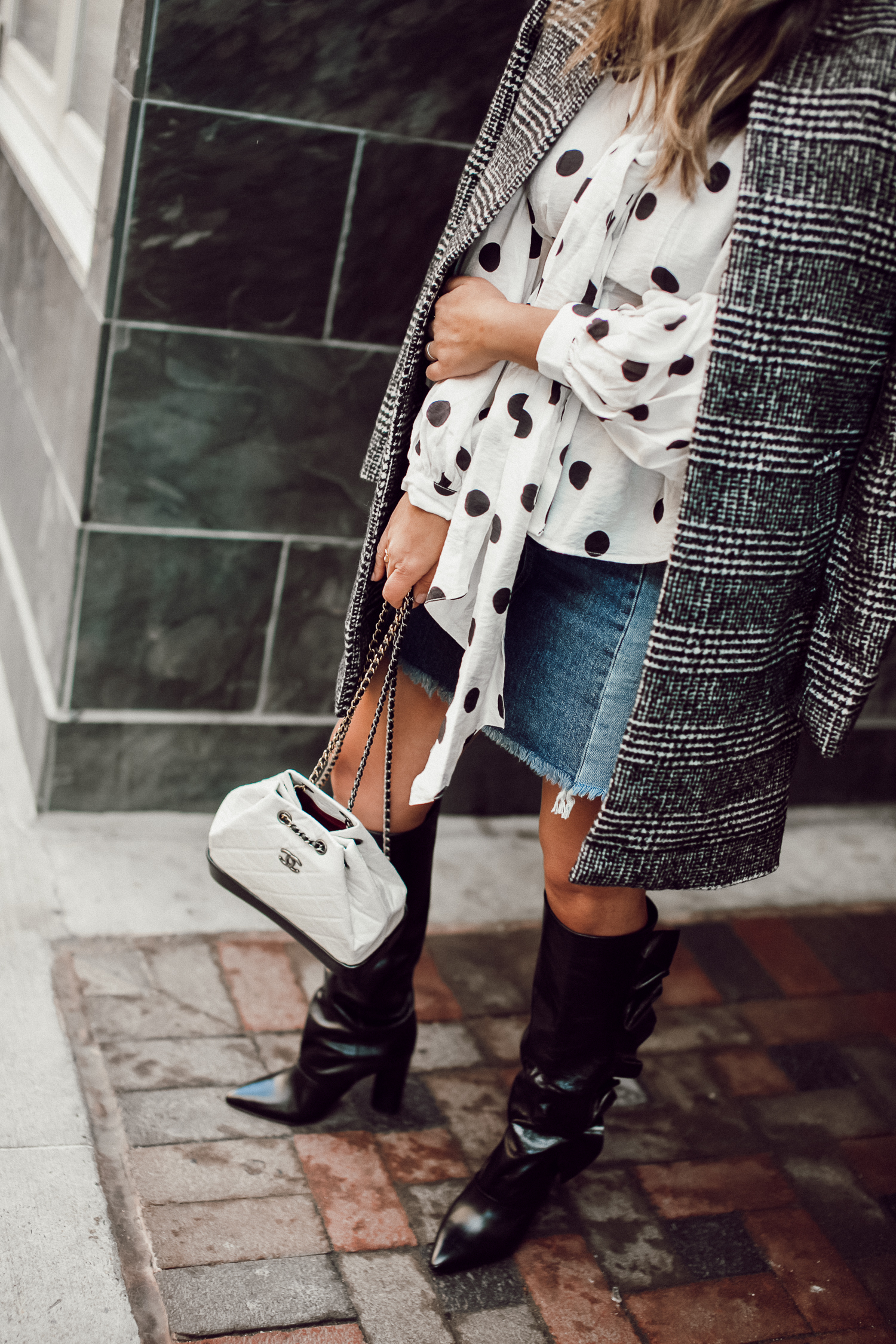 Style MBA Wears Slouchy Boots