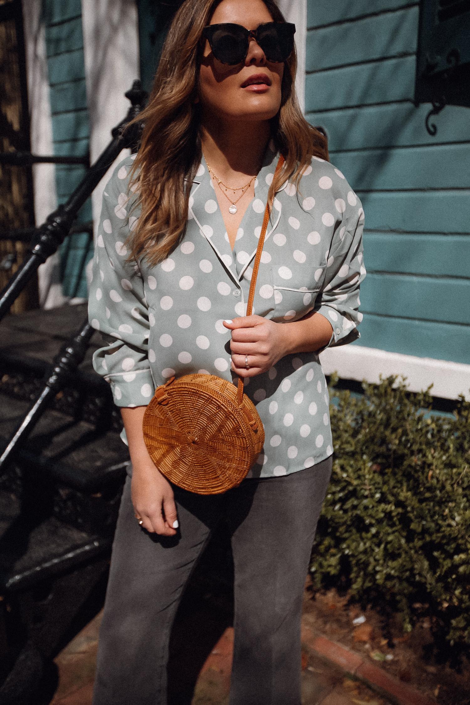 Style MBA Wears Mango Polka Dots