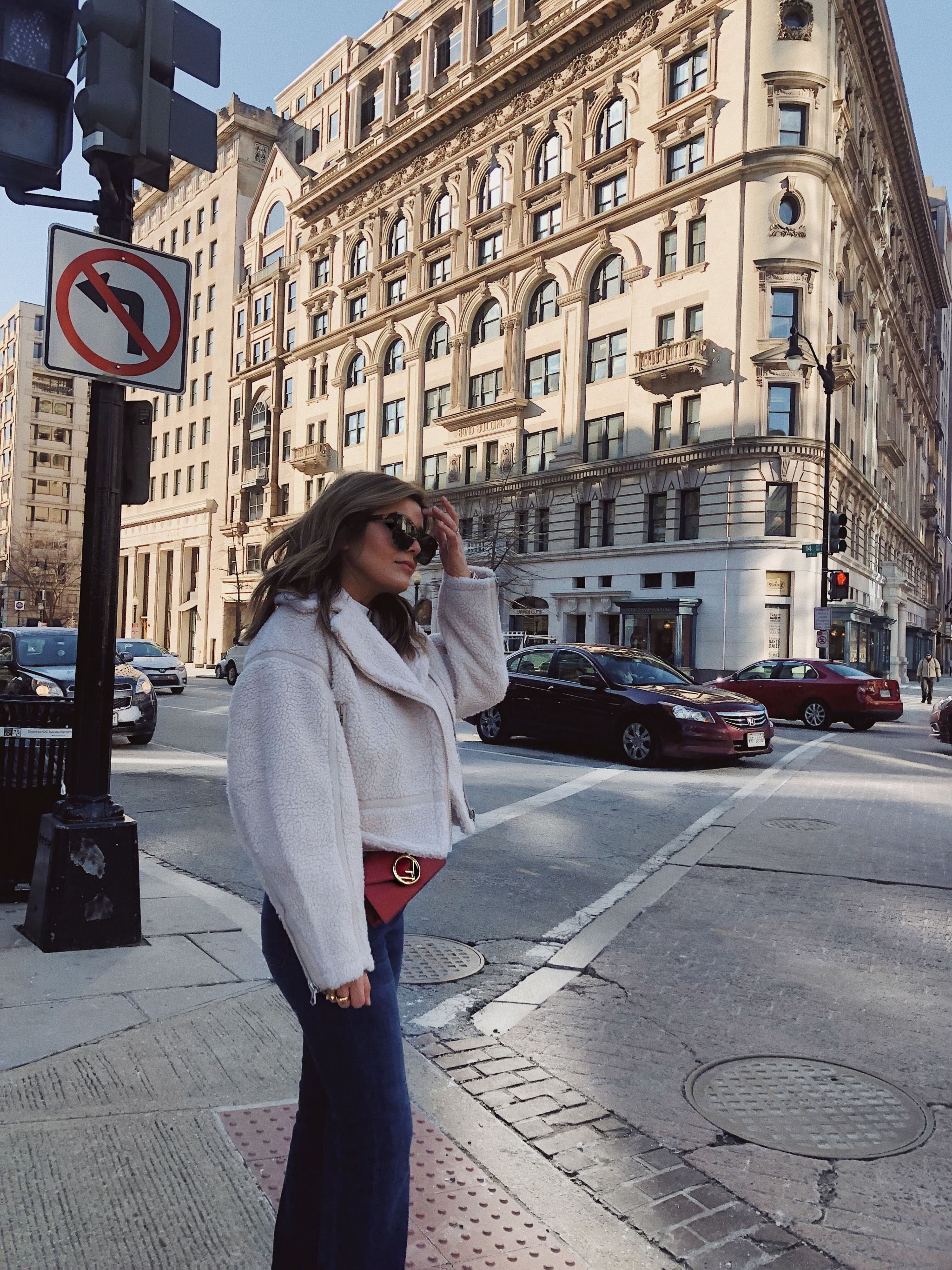 Style MBA Wears & Other Stories Cropped Shearling Coat